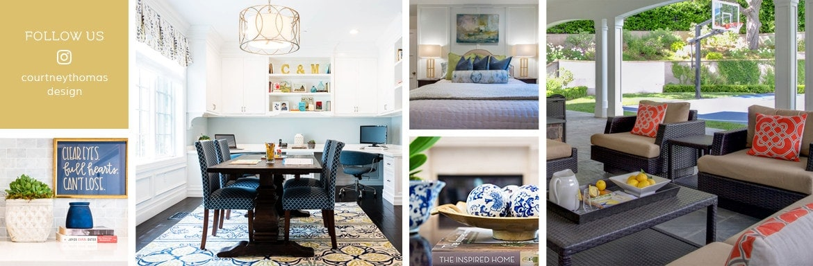 Follow La Cañada's top interior design firm - Courtney Thomas Design on Instagram
