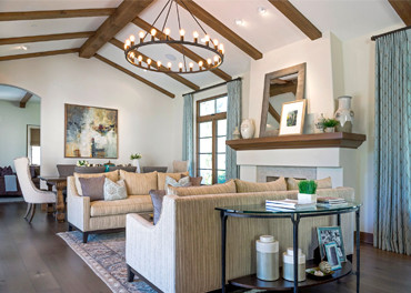Luxury family home interior design by La Cañada's top interior design firm