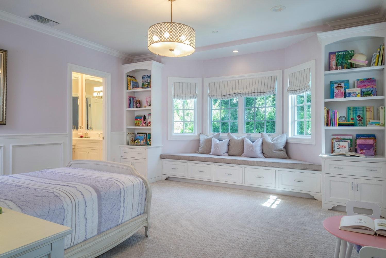 Girl's bedroom interior design of Berkshire home, La Cañada