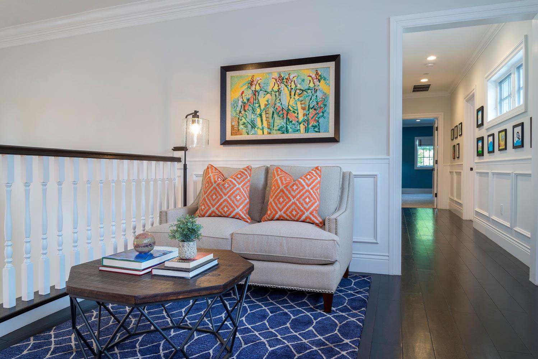 Berkshire house hallway design by Courtney Thomas Design
