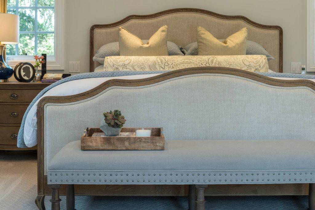 Master bedroom renovation of Berkshire home, La Cañada