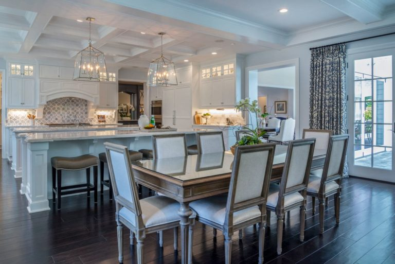 Open kitchen remodeling of Berkshire home, La Cañada