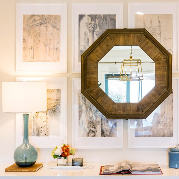Courtney Thomas Design's office interior design in La Cañada