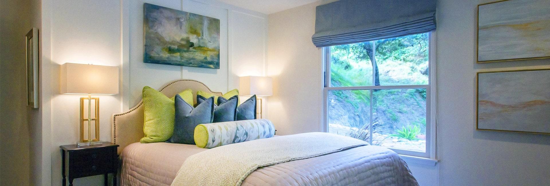 Guest house interior design at Kings Road, La Cañada
