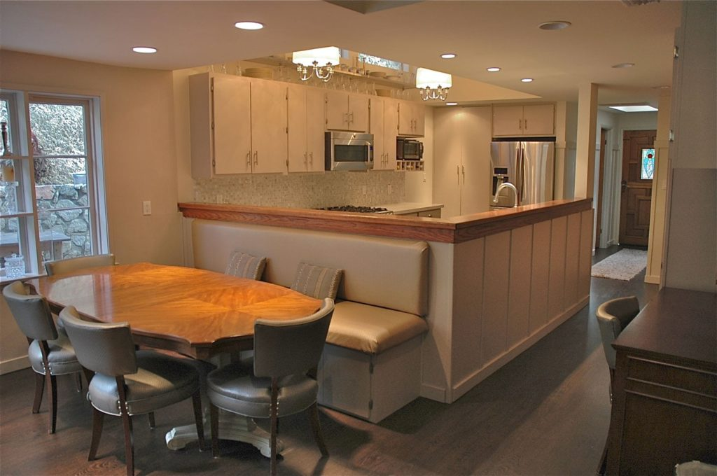 Guest house open kitchen design by Courtney Thomas Design in La Cañada