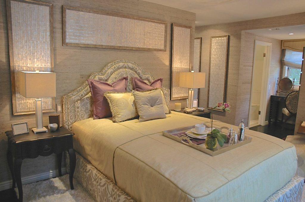 Master bedroom design in Pasadena, CA