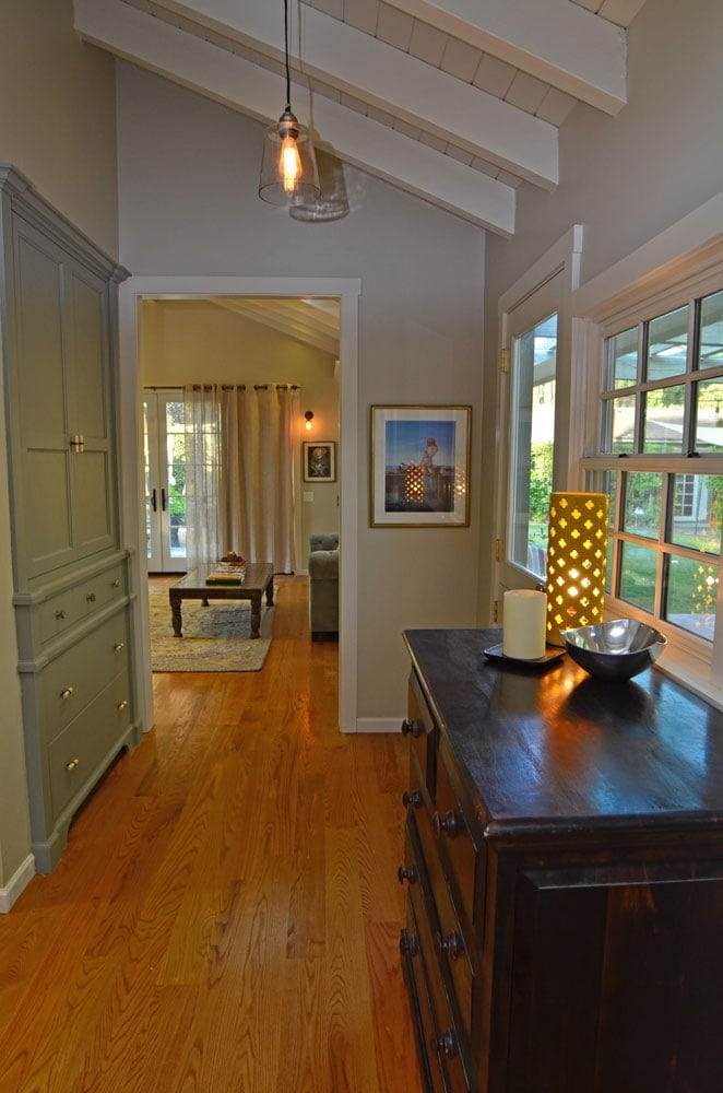 Hallway design of a house in Verdugo Woodlands, CA