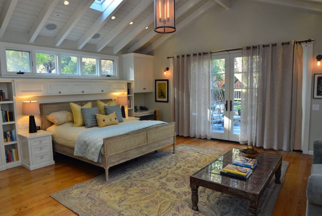 Master bedroom interior design Verdugo Woodlands, CA