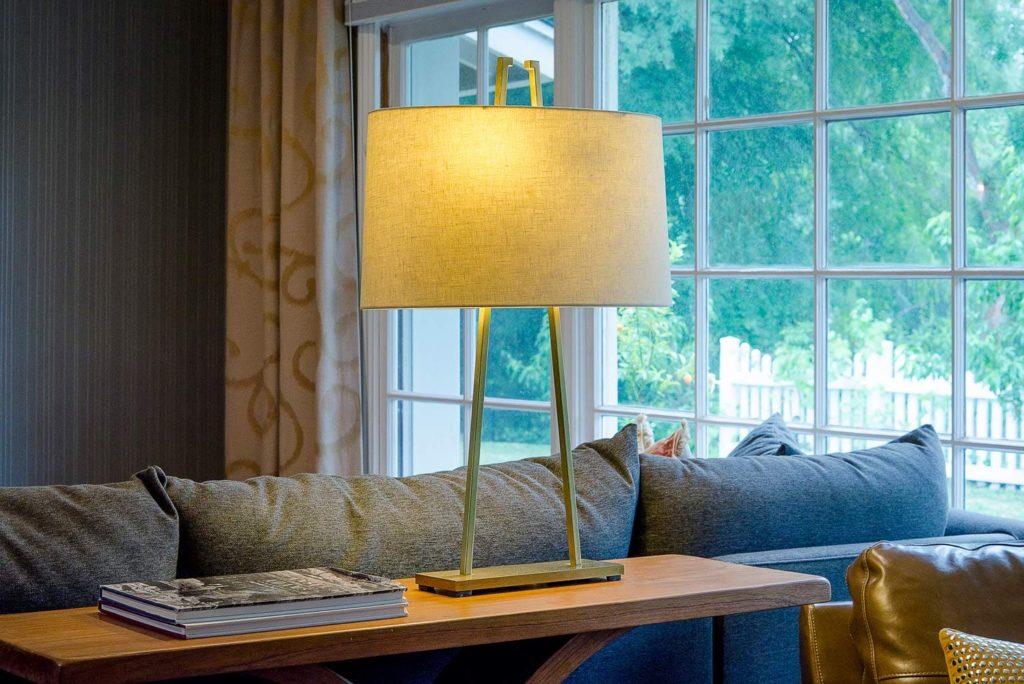 Luxury living room decor at Wilmar Road, La Cañada